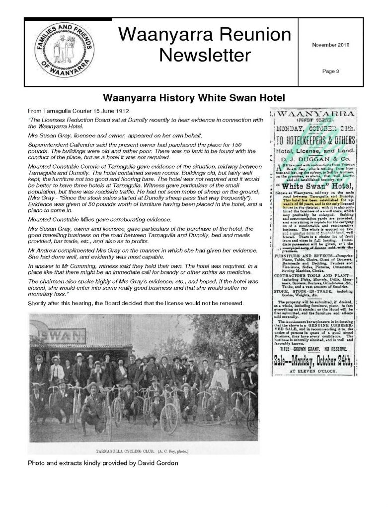 Waanyarra Reunion Newsletter November 2010lr_Page_3