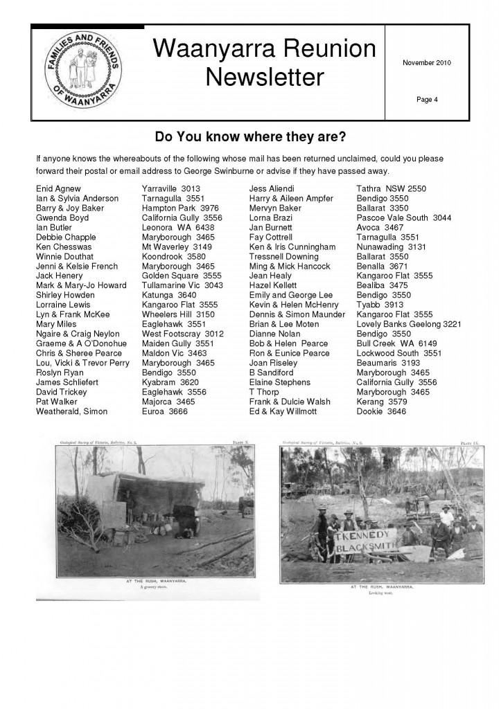 Waanyarra Reunion Newsletter November 2010lr_Page_4